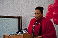 Janice Glenn Acting Director of Illinois Department of Human Rights Equal Pay Day Rally and Press Conference Chicago Illinois 4-10-18 0703 (40688403994).jpg