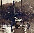 Janine Jennky, victorieuse de la côte de Gometz-le-Châtel sous la pluie, en octobre 1928.jpg
