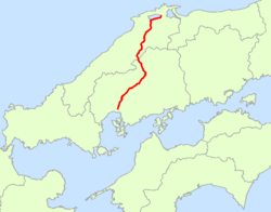 Japan National Route 54 Map.png