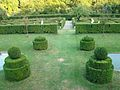 Jardins attenants au nouveau château d'Ansembourg au Grand-Duché de Luxembourg.JPG