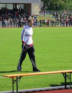 Javier Pinola - Pinola in training with Nürnberg.