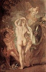 Antoine Watteau: Le jugement de Pâris