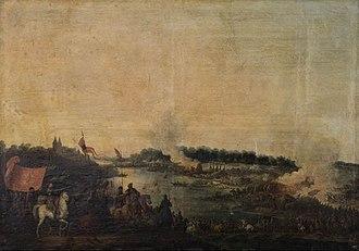 Battle of Zboriv (1649) - Painting of Jean-Pierre Norblin de La Gourdaine (1780s)