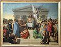 Jean-auguste-dominique ingres, uomo deificato, detto l'apoteosi di omero, 1827, 01.jpg