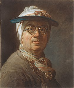 Jean Siméon Chardin - Self-Portrait with a Visor - Google Art Project.jpg
