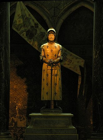 Reims Cathedral - Joan of Arc, by Prosper d'Épinay