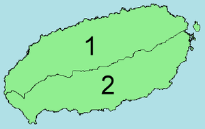 area map of Jeju Special Self-governing Provin...