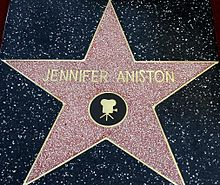 La stella di Jennifer Aniston sulla Hollywood Walk of Fame