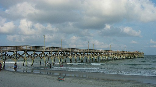 Surfside Beach, South Carolina.