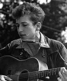 Dylan at the 1963 March on Washington for Jobs and Freedom