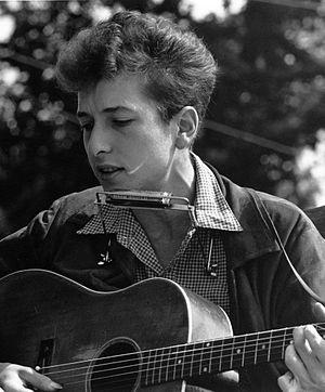Bob Dylan, Best Original Song winner Joan Baez Bob Dylan crop.jpg