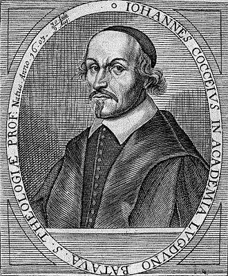 Johannes Cocceius - Woodcut of Johannes Cocceius