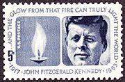 John F Kennedy 1964 Issue-5c