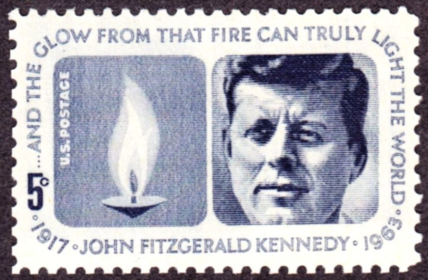 John F Kennedy 1964 Issue-5c