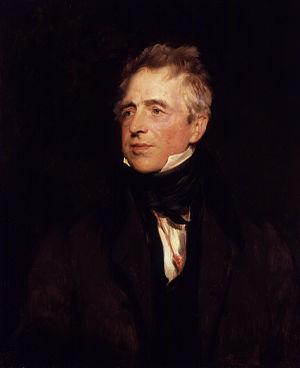 John Fawcett (actor) - Portrait of John Fawcett by Thomas Lawrence, 1828