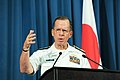 Joint Chiefs Chairman Adm. Mullen Addresses Tokyo Press (5942290082).jpg