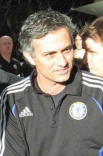 Português: O treinador de futebol português José Mourinho.