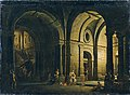 Josef Platzer - Abschied des Julius Sabinus von seiner Familie im Kerker - 3583 - Kunsthistorisches Museum.jpg