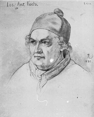 Joseph Anton Koch - Image: Joseph Anton Koch