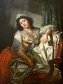 Joseph Roques - Portrait de Madame Sermet ou La Rose et le Bouton - ca 1788.png