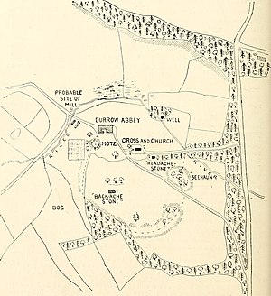 Durrow, County Offaly - 19th-century Durrow