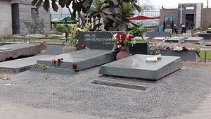 Juan Velasco Alvarado - Grave of General Velasco.