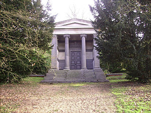 St Pancras and Islington Cemetery - Mond mausoleum