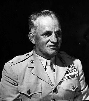Julian N. Frisbie - Julian N. Frisbie as colonel, USMC