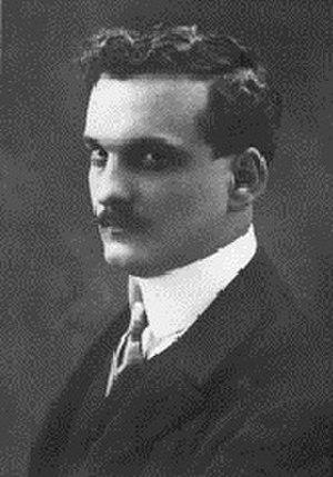 Julio Romero de Torres - Retrato of Julio Romero de Torres (circa 1900)
