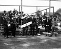 Juvenile Aviation Meeting, with group of young men holding model airplanes (CURTIS 370).jpeg