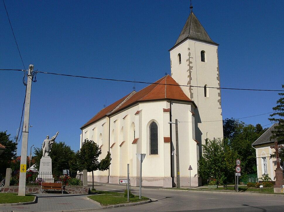 Kőröshegy catholic church