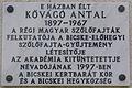 Kővágó Antal Plaque in Bicske.jpg