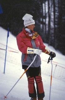 Erika Hess Swiss alpine skier