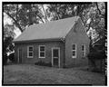 KITCHEN BUILDING, FROM NORTHEAST - Westover, Kitchen Building, State Route 633, Charles City, Charles City, VA HABS VA,19-WEST,1B-1.tif