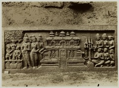 KITLV 27984 - Kassian Céphas - Relief of the hidden base of Borobudur - 1890-1891.tif