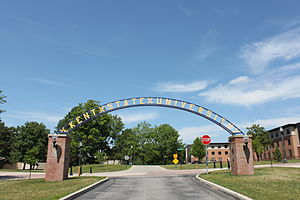 Kent State University - Gateway Arch on Kent Campus