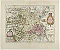 Kaart van het prinsdom Orange, 1627 La Principauté d'Orange et Comtat de Venaissin (titel op object), RP-P-OB-81.956.jpg