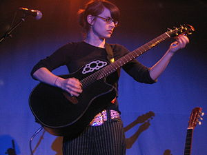 Kaki King - Image: Kaki King Knitting Factory 04
