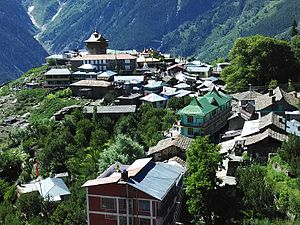 Kinnaur district - Kalpa as of June 2015