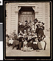 Kappa Alpha Theta sorority women in front of an entrance to a building, ca. 1880-1919 (uaic-sor-1880-1919-002~1).jpg