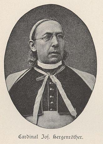 Joseph Hergenröther - Joseph Hergenröther.