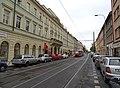 Karlín, Sokolovská 49, zastávka Karlínské náměstí.jpg