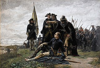 Karl XII and Ivan Mazepa after The Poltava Battle 1709