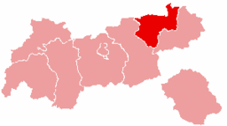 Bezirk Kufstein location map