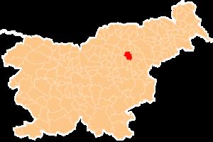 Municipality of Vojnik - Image: Karte Vojnik si