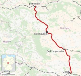 Gotha–Leinefelde railway