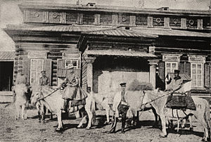 Yakutsk - Kate Marsden leaving Yakutsk in 1891
