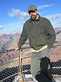 Ken Westerfield at the Grand Canyon in 2009.jpg