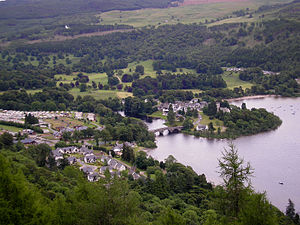 Kenmore, Perth and Kinross - Image: Kenmore from Black Rock