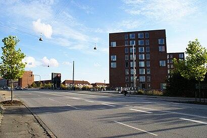 Sådan kommer du til Bispebjerg Kollegiet med offentlig transport – Om stedet